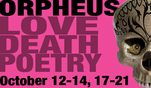 UT production of Orpheus runs October 12-14, 17-21