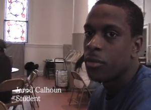 image of Jerod Calhoun in NYC church kitchen