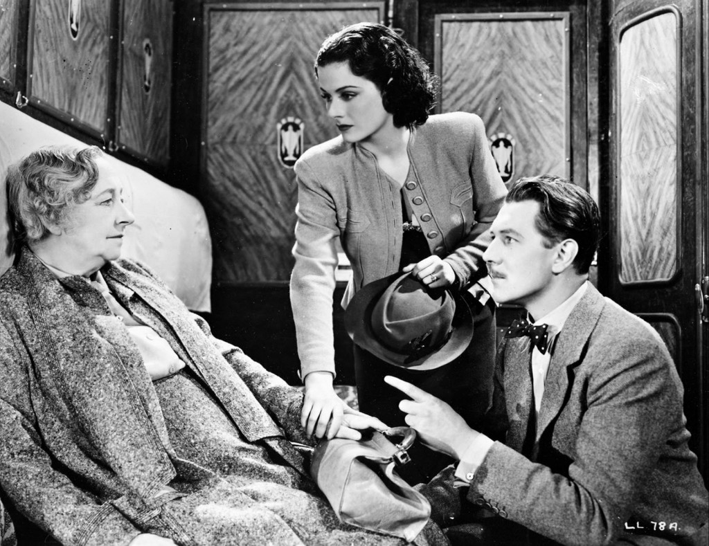 """Scene from """"The Lady Vanishes"""" directed by Alfred Hitchcock"""