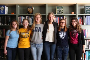 Six freshman BioEs this fall are Notre Dame Academy alums.
