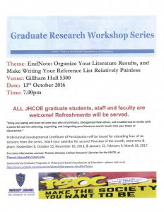 Grad workshop 2